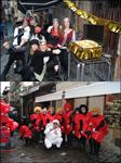 Momento de los Carnavales de Getaria