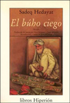 """El búho ciego"" liburuaren azala"