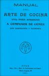 """Manual Del Arte De Cocina"" liburuaren azala"