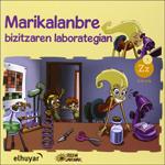 """Portada del libro """"Marikalanbre, bizitzaren laborategian"""""""
