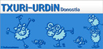Txuri Urdinaren logoa