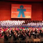 Momento del Concierto de Navidad a Beneficio de UNICEF