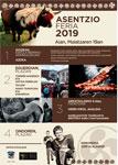 Cartel de la Feria de la Ascensión de Aia 2019