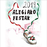 Alegiako Karmengo Jaien kartela 2019