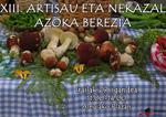 Cartel de la Feria Especial de Artesanía y Agricultura de Alegia 2019