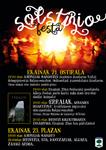 Cartel de la Fiesta del Solsticio de Altzo 2019