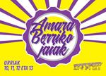 Donostiako Amara Berriko Herriko Jaien kartela 2019