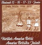 Cartel de las Fiestas de Amara Berri 2018
