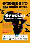 Cartel del Concierto Navideño De Rock Solidario de Donostia 2019