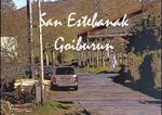 Cartel de las Fiestas de San Esteban de Goiburu de Andoain