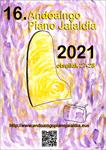 Andoaingo Piano Jaialdiaren kartela 2021