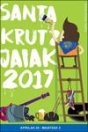 Cartel Programa Fiestas de Santa Cruz (Santakrutz) de Andoain 2017