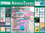 Cartel del Programa de Fiestas de Añorga Txiki de Donostia 2017