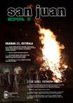 Cartel de la Víspera de San Juan de Aretxabaleta 2017