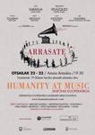 "Arrasateko ""Humanity at Music"" ikuskizunaren kartela 2019"