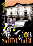 Cartel de las Fiestas Maritxu Kajoi de Arrasate 2018
