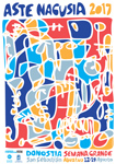 Cartel de la Semana Grande de Donostia 2017