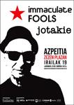 Azpeitiko Immaculate Fools + Jotakie Kontzertuaren kartela 2020