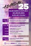 Cartel del Día Internacional Contra la Violencia Machista en Azkoitia 2019