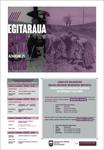 Cartel del Día Internacional Contra la Violencia Machista en Urola Garaia 2020