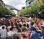 Cartel del Programa Fiestas de Andramaixek de Azkoitia 2018