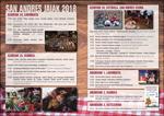 Cartel de las fiestas de San Andrés de Azkoitia 2018