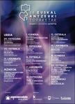Cartel de los Encuentros de Teatro Vasco de Azpeitia 2020