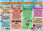 Cartel de Fiestas de Sanjuandegi de Azpeitia 2018