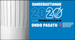 Azpeitiko San Sebastian Jaien kartela 2020