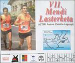 Cartel de la carrera