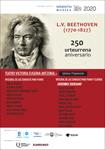 """Cartel del programa """"Integral de sonatas para piano de Beethoven"""" 2020"""