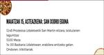Cartel del Día de San Isidro de Berastegi 2019