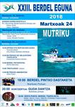 Cartel del Berdel Eguna de Mutriku 2018