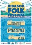 Cartel del Festival BidasoaFolk 2019