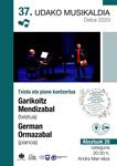Imagen 1 de la galería de Concierto: Garikoitz Mendizabal & German Ormazabal