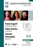 Imagen 1 de la galería de Concierto: Paula Iragorri, Elena Sancho y German Ormazabal