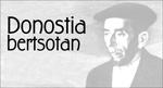 """""""Donostia Bertsotan"""" ekitaldiaren kartela"""