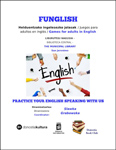 "Folleto del evento ""Funglish"" de Donostia"