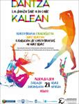 "Cartel del espectáculo ""Dantza Kalean"""