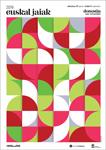 Cartel de las Euskal Jaiak de Donostia 2019