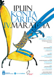 Cartel del Ipuin Kontalarien Maratoia de Donostia 2018