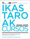 Donostia Kulturaren 2020-2021 Ikastaroen foiletoa