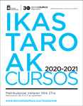 Folleto de los Cursos 2020-2021 de Donostia Kultura