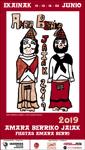 Cartel de las Fiestas de Amara Berri de Donostia 2019