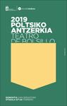 Cartel del Festival de Teatro de Bolsillo de Donostia 2019