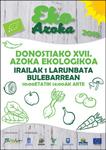 Cartel de la Feria de Agricultura Ecológica de Donostia 2018