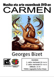 """Cartel de la proyección """"Carmen"""""""