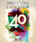 Cartel de las Jornadas de Teatro de Eibar 2017