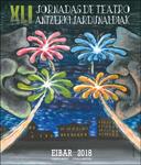 Cartel de las Jornadas de Teatro de Eibar 2018