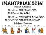 Cartel de Carnavales en Elgeta 2016